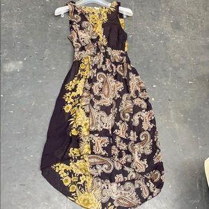 Eco Paisley Printed Dress Sz S